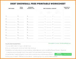 Debt Payoff Excel Debt Snowball Spreadsheet Excel Debt Snowball Worksheet Excel Payoff