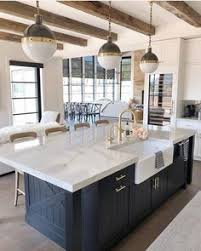 37 Best Large Kitchens With Islands images in 2019 | Kitchen dining ...