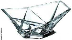 Купить <b>Салатник Crystalite Bohemia</b> «<b>Оригами</b>», 15,5 см./Тарелки ...