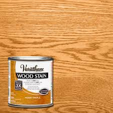 Varathane 12 Pt Honey Maple Wood Stain 267141 The Home Teak