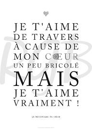 Déclaration Je Taime De Travers Citations Je Taime Citation