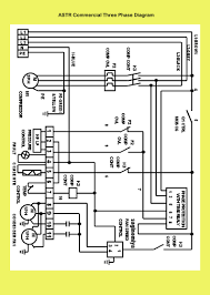 refrigeration air supplies administration astr commercial three phase wiring diagram