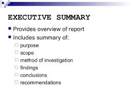 executive summary format for project report pin by michael farley on business executive summary pinterest