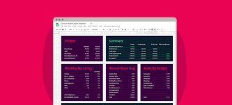 Google Spreadsheets Budget Template My Google Sheets Budget Template Simple Beautiful