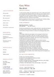 how to write a bus driver resume qualification small business manager job description