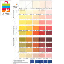 Nippon Paint Colour Chart Malaysia Nippon Paint Interior Q Glo Sweet Peach Np Yo 1215 P 15l