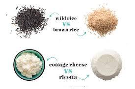 brown rice vs white rice.  White In Brown Rice Vs White