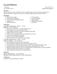 Administrator Resume Examples Best Office Administrator Resume Example Livecareer