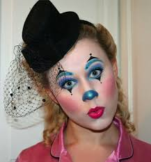 Girl Clown Face Designs Melissa Kassinen Make Up Artist Slough United Kingdom
