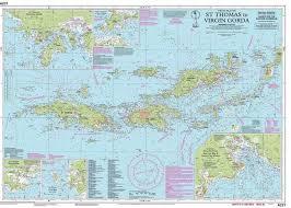 Caribbean Islands Comparison Chart W P I I A231 Virgin Islands St Thomas To Virgin Gorda Chart By Imray Iolaire