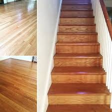 washington dc hardwood refinishing project red gany wood floor