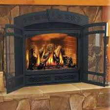 gas fireplace fronts gas fireplace doors open or closed