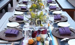 Table Setting Sample Location Blue Sky Ranch Table