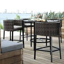 fabulous bar height patio furniture sets 31 best images about bar height patio chairs on