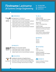 typography critique any advice on the design of my systems resume image