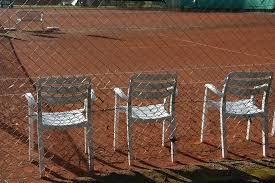 tennis tennis court chairs garden chairs