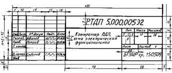 Дипломное проектирование  Образец заполнения основной надписи дополнительной графы к ней дубликат обозначения документа а также размеры ограничительных рамок показаны на рис