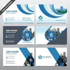 City Background Business Card Design Template Can Be Adapt To