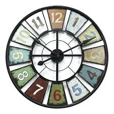 outside wall clocks 3 gallery decorative outdoor large for plan 11