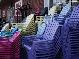 cool plastic adirondack chairs home depot for simple outdoor decoration with red brick painted house plus