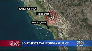 Although the written history of california is not long, records of earthquakes exist that affected the spanish missions that were constructed beginning in the late 18th century. Southern California Earthquake Widely Felt Causes Some Damage Youtube