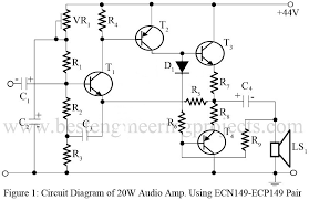 voltage amplifier circuit diagram the wiring diagram amplifier circuit diagram power amplifier voltage amplifier circuit diagram