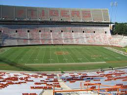 Clemson Memorial Stadium View From Section Uf Vivid Seats