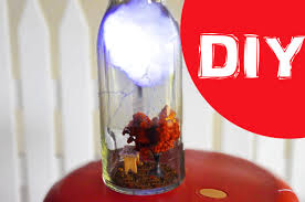 lighting in a jar. DIY Nightlight Lighting Cloud In A Jar Home Accent Room Decor - YouTube