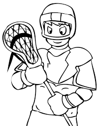 Sports Coloring Pages Printable Coloring Page For Kids