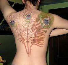 Tetování Pírko Fotogalerie Motivy Tetování