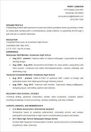 Free Student Resume Templates Fascinating Sample Resume High School Student Beautiful Microsoft Word Resume
