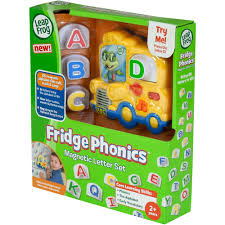 leapfrog fridge phonics magnetic letter set walmart com