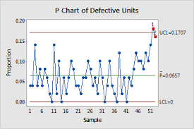 Interpret The Key Results For P Chart Minitab