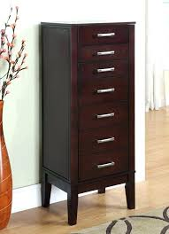 espresso jewelry contemporary dark living hives honey and chelsea armoire