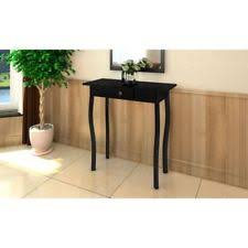 vidaxl wooden table end desk black 240044 french country table3