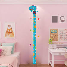 Kids Children Height Growth Chart Measure Wall Sticker