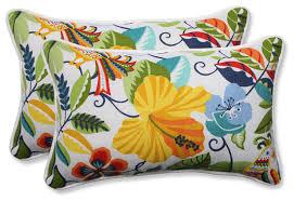 Lensing Garden Oversized Rectangular Throw Pillow Set of 2