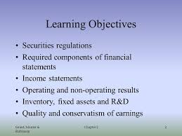 Components Of Income Statement Fascinating Understanding Financial Reports And The Income Statement Chapter 44