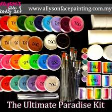 face painting supplies awesome allyson s face painting fp set