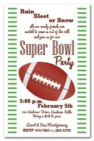 Football Invitation Template Super Bowl Party Invitation Template Stripes And Football Super Bowl