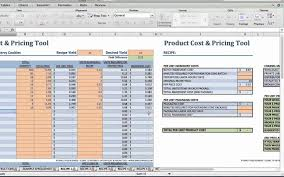 Example Of Food Cost Inventory Spreadsheet Calculation Excel Selo L