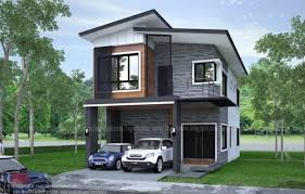 elongated two y house design with