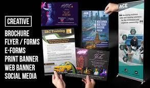 Get A Flyer Poster Or Leaflet Design For 5 Fivesquid