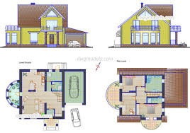 free autocad house plans dwg beautiful small house autocad home floor festivalmdp of free autocad house