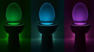 Glowbowl Toilet Night Light Tired Of Men Hitting Everything But The Toilet