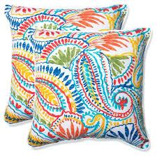Tropical Throw Pillows Green Outdoor Pillows Lime Green Pillow