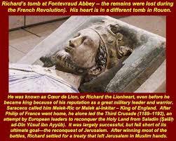 Image result for Richard I grave