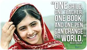 Image result for Malala Yousafzai quotes