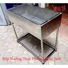 Bếp nướng than hoa ngoài trời   bếp nướng thịt bằng than, lò nướng đứng ngoài  trời giá cạnh tranh