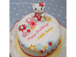 Order Online Hello Kitty Birthday Cake For Little Sister In Dahod